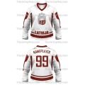 Team Latvia Hockey Jersey Light