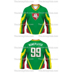 Team Lithuania Hockey Jersey Dark
