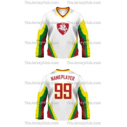 Team Lithuania Hockey Jersey Light