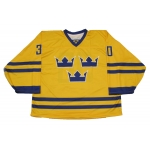 Team Sweden Hockey Jersey H. Lundqvist Light