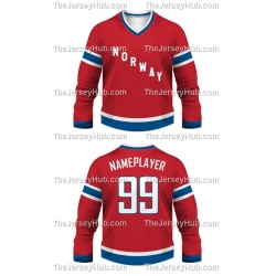 Team Norway Hockey Jersey Dark