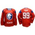 Team Norway 1 Hockey Jersey Dark