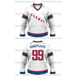 Team Norway Hockey Jersey Light