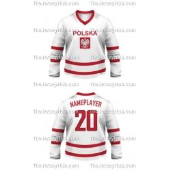 Team Poland Hockey Jersey Light