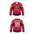 Team Romania Hockey Jersey Dark