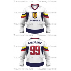 Team Romania Hockey Jersey Light