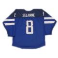 Team Finland 2014 Hockey Jersey Teemu Selanne Dark