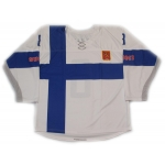 Team Finland 2014 Hockey Jersey Teemu Selanne Light