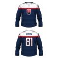 Team Slovakia 2014 Hockey Jersey Dark