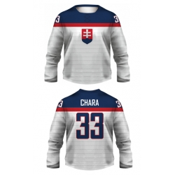 Team Slovakia 2014 Hockey Jersey Light