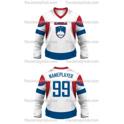 Team Slovenia Hockey Jersey Light