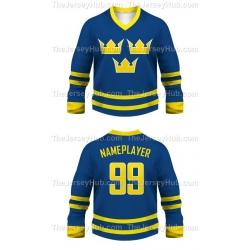 Team Sweden Hockey Jersey Dark