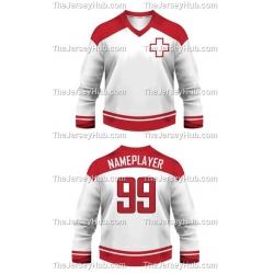 Team Switzerland Hockey Jersey Light