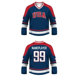 Team USA Hockey Jersey Dark