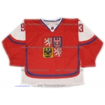 Team Czech Republic Jakub Voracek Hockey Jersey Dark