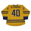 Team Sweden Hockey Jersey H. Zetterberg Light