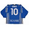 Team Finland Hockey Jersey Joel Armia Dark