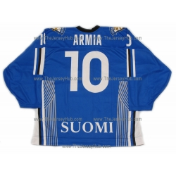 Team Finland Hockey Jersey Joel Armia Dark