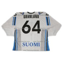 Team Finland Hockey Jersey Mikael Granlund Light