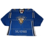 Team Finland Goalie Hockey Jersey Miikka Kiprusoff Dark