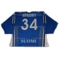 Team Finland Goalie Hockey Jersey Miikka Kiprusoff Dark