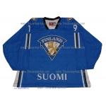 Team Finland Goalie Hockey Jersey Mikko Koskinen Dark
