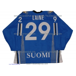 Team Finland Hockey Jersey Patrik Laine Dark