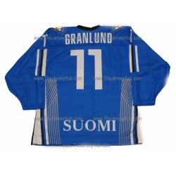 Team Finland Hockey Jersey Markus Granlund Dark