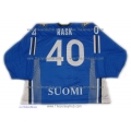 Team Finland Hockey Jersey Tuukka Rask Dark
