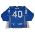 Team Finland Goalie Hockey Jersey Tuukka Rask Dark
