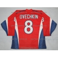 Team Russia 2007 Russian Hockey Jersey Ovechkin Dark