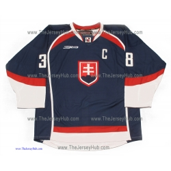 Team Slovakia PRO Pavol Demitra Slovak Hockey Jersey Dark