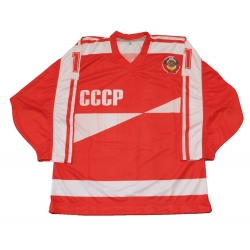 Team USSR 1986 Soviet Russian Hockey Jersey Larionov Dark