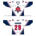 "Stars of Moscow ""Zvezdy Moskvy"" Soviet Wings Krylya Sovetov 65th Anniversary Russian Hockey Jersey Light"