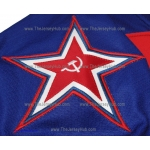 Red Army 1980 CSKA Soviet Russian PRO Hockey Jersey Tretyak Tretiak Dark