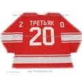 Team USSR 1972 Soviet Russian PRO Goalie Hockey Jersey Tretiak Tretyak Dark