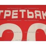 Team USSR 1980 Soviet Russian PRO Goalie Hockey Jersey Tretyak Tretiak Dark