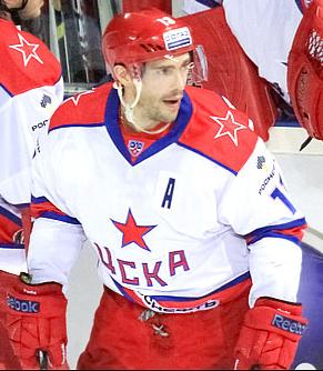 f62f459893b CSKA Moscow 2012-13 Russian Hockey Jersey Pavel Datsyuk Light